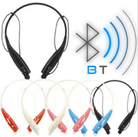 Wholesale Drop Shipping Cell Phones - HBS730 Bluetooth neckband earphone headset Stereo Wireless Music sport earphone headphone for universal cellphones free drop shipping