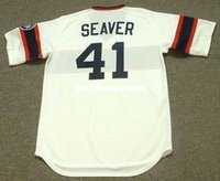 Tom Seaver Chicago White Sox 1985 Majestic Cooperstown casa baseball Jersey