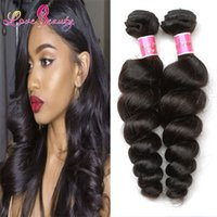 Wholesale Loose Wavy Russian Hair - grade 10A peruvian loose wave hair loose weave eurasian hair 1 BUNDLE wholesale russian hair raw indian wavy