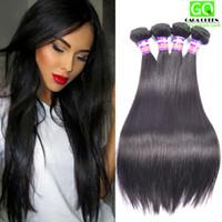 Wholesale Beauty Queen Peruvian Hair - 8A Grade Virgin Peruvian Unprocessed Human Hair Weft Peruvian Straight Virgin Hair Bundles Queen Weave Beauty Peruvian Virgin Hair Straight