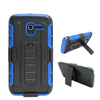 Wholesale Ace Silicone - For Samsung Galaxy J7 2015 J5 J3 J2 J1 Ace Protector Defender Robot Hybrid Combo Holster Belt Clip Case with Kickstand Opp Bag