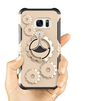 Wholesale heavy impact phone cases for sale - Sports Case for Samsung S7 S8 Note In Hybrid Gear Heavy Duty High Impact Holder Shockproof Phone Case Cover