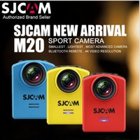 Original SJCAM M20 Wifi Gyro Helmet Sport Camera HD 4K 24fps NTK96660 16MP Sj Câmera de ação Cam 30M Waterproof DV Mini Camcorder