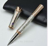 Wholesale Elegant Collections - Princess Collection Metal Carving Roller Pen Elegant Lady Luxury Pen With Serial Number Office Supply