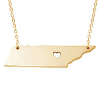 I Heart Tennessee Necklace