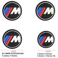 x5 pads großhandel-Hohe qulity Silikagel Auto Tasse Anti-Rutsch-Pad Matte für BMW 1 3 5 7 Serie F30 F35 320li 316i 328 X1 X3 X5 X6 Zubehör