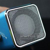 Wholesale Musik Bluetooth - Blue 100% Asli MD07 Upgrade Speaker Mini Warna MD07 USB Musik Angel Speaker Kotak Suara Kartu TF