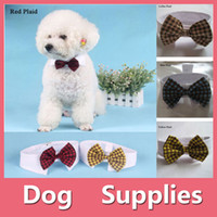 Fashion Dog Adorable Cat Puppy Pet Kitten Toy Bow Tie Cravate Collar Vêtements Hot 4 Type Vendre