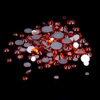 cristal rhinestone cristal chatons venda por atacado-Hyacinth SS12-SS30 não Hotfix cristal strass Facetas Flatback Glue em strass Diamantes de vidro Chatons DIY Artesanato Vestuário Decoração