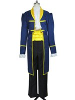 Wholesale Prince Charming Costume Xl - Mens Royal Prince Charming Beauty and The Beast Adult Cosplay Costume