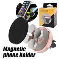 Universal Air Vent Magnetic Phone Holder Magnet Holder Phone Holder Aluminum Silicone Mount Holder Stand