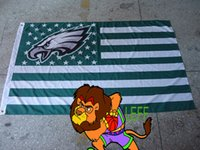 Wholesale Cm Club - 100% polyester 90*150cm,Philadelphia Eagles flag,Digital Printing, club,champions banner