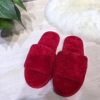 Wholesale Fashion Slippers For Girls - Iuggirl One Sheep Fur Slippers Home Out of The Street Take Necessary Tide for Women Girls