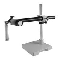 ingrosso bracci del braccio-ZJ-708 Boom Stand Microscope stand Post e croce tipo di interfaccia del braccio trasversale doppio connettore foro altezza Messaggio 450 millimetri