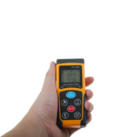 Wholesale tools measuring area online - New arrival M Digital Measure Tester laser Rangefinder CP P Accuracy Mini LCD Laser Distance Meter Area volume Angle Tester tool