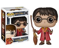 Wholesale toy boxes for sale - Funko POP Movies Harry Potter Severus Snape Vinyl Action Figure with Original Box Good Quality dobby Doll ornaments toys