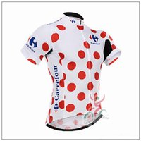 Wholesale Tour France Cycling Tops - Newest Moisture-wicking Bicycle Shirts Ropa Ciclismo Racing Tour De France Summer Cycling Shirt Jerseys Short Breathable Cycling Bike Tops