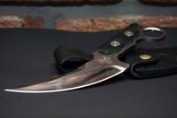üst karambit bıçağı toptan satış-1 Adet Üst Kalite Bawidamann karambit Endonezya bıçak kendini savunma Taktik Survival Av Aracı Açık Kamp Yürüyüş Survival bıçaklar