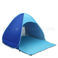 Wholesale Sun Shade Beach Tent - Sun Shelter Shade Easy Up For Outdoor Instant Pop Up Tent Beach Auto Portable