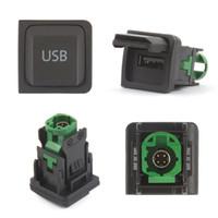 auto-kombi-schalter groihandel-Auto USB Kabel Adapter mit Schalter für Volkswagen RCD510 RNS315 RCD300 + VW Golf Jetta MK6 Polo Touran Tiguan Scirocco