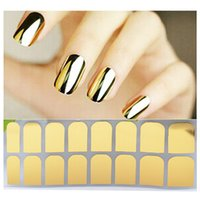Wholesale Nail Art Armour Wraps - Nail Art Decorations Patch Foils Armour Stickers Cool Nail Stickers For Women Beauty professional Patch Wraps Nail Tools