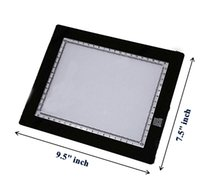 Wholesale tracing tables - Ultra Thin Mini Tattoo LED Stencil Tracing Light Box Table 14-1007-00