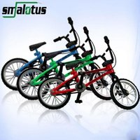 Atacado- Extreme Sports Alloy Mini Finger Bike BMX Profissional Diy Tools Suit Criança Finger Bicycle Suit Child Novelty Christmas Gift