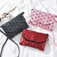 Wholesale Tartan Plaid Evening Bag - Matte Designer Women Evening Bag Shoulder Bags Girls Handbag Fashion Geometric Casual Clutch Messenger Bags