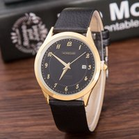 Wholesale High End Digital Watches - HOREDAR British style simple classic ladies fashion table, high-quality high-end gold shell watch wholesale free shipping