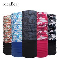 Atacado- Ideacherry Inverno Quadra de lã de outono Multi Functional Bandana Headband Seamless Tubular Magic Bandana Tube Ring Scarf Sport