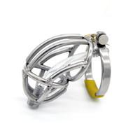 силиконовая трубка оптовых-Последний дизайн из нержавеющей стали мужской Boundage целомудрие устройство силиконовые трубки фетиш секс-игрушки A143