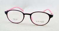 Wholesale Rainbow Framed Glasses - TR90 Rainbow Unisex Men Women Glasses Oval Retro Round Optical Frame Eyeglasses Full Rim Frames