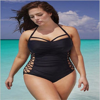 Wholesale Xxl Bikini Swimwear - 2017 latest Bikini swimwear sexy Extra large code Sandy beach Camisole European and American style