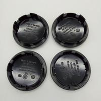 vw räder großhandel-65mm Auto Radnaben Felge Zentrum Caps für Volkswagen VW GOLF JETTA MK5 PASSAT B6 TOUAREG