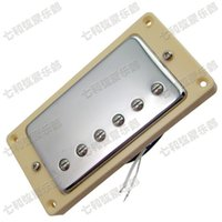 Wholesale A5 Silver double coil Electric guitar Pickup Guitar parts musical instruments accessories humbucking guitar pickups