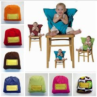 Baby Eat Chair Cinturón de seguridad Portable Kids Dining Chair Belt Kids Highchair Funda Cojín 8 Estilos DHT206