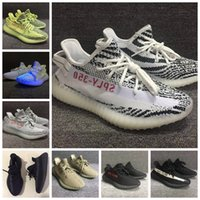 Wholesale Mesh Bags For Women - Hot Selling Kanye West Boost 350 V2 CP9654 Zebra 2017 New SPLY-350 Running Shoes For Men Women Double Box Bags Receipt