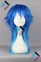 Wholesale Dramatical Murder Wig - Wholesale-Seragaki Aoba Wig -Dramatical Murder Wig Seragaki Aoba Cosplay Wig Blue Mens Dramatical Murder Cospaly Wigs