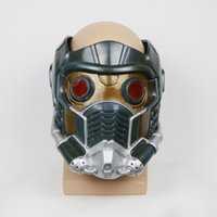 Wholesale Cosplay Guardians of the Galaxy Helmet Halloween Peter Quill Helmet Star Lord Helmet Party Mask For Adults