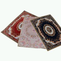 Wholesale Persian Rugs Carpets - 40x60CM Europe Style Plant Flowers Carpet Area Rug For Bedroom Livingroom Carpets - Kitchen Baths Welcome Door Mat Anti-Slip Home Decor