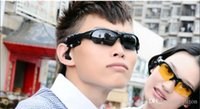 Wholesale Sunglasses Bluetooth Headset Sunglass Stereo Sports Headphone Handsfree Earphones mp3 Music Player DHL