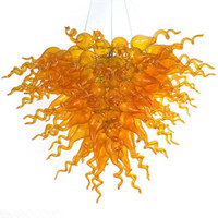 Wholesale italian style kitchens - Longree Italian Dale Chihuly Style Clear Blown Glass Chandelier AC 110V 220V CE UL LED Light Source European Style
