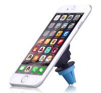 Wholesale Sticky Mobile Holder - 2016 Hot 360 degree rotation Magnetic magnet Car Air Vent Mount Mobile Phone Holder For iphone 6 6s Samsung Cd Slot Clip Bracket Sticky DHL