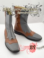 blazblue cosplay - BLAZBLUE Hazama pu leather Cosplay Boots shoes shoe boot NC391 anime Halloween Christmas