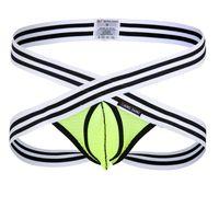 Wholesale string slips - Mens G Strings Thongs Gauze Mesh Slip WJ Underwear Low Waist Ropa Interior Hombre Calzoncillos Marcas Mens Underwear Jockstrap