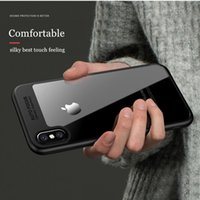 Wholesale New Fit Camera - New Arrival Full Protection Transparent Back Panel Soft TPU Camera Protection Back Case Cover for iPhone X Free Shipping