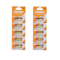 Wholesale Mn21 23 - 2Pack 10Pcs PKCELL 12V 23A 23AE 21 23 23GA MN21 Alkaline Battery for Doorbell,Remote Control,dry battery battery car battery