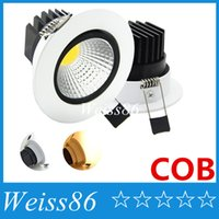 X20 COB Led Downlights 9W 12W 15W 18W Dimmable Led Encastré Plafonniers Anti-éblouissement AC 110-240V + Pilotes