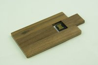 Wholesale Gadgets Promotion - 2016 New USB Gadget Wooden Credit USB Pen Drive 4GB 8GB 16GB With Custom LOGO Printing For Business Promotion Gift
