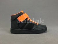 Wholesale Euro Style Boxes - With box Cheap wholesale 2017 hot brand mens VARIAL MID hip-hop style high top Casual shoes Fashion classic running shoes euro 40-44